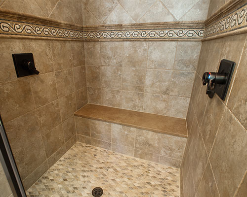 Shower tile repair