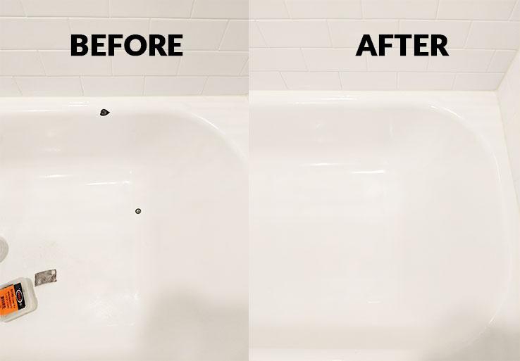 bathtub chip repair by tubworx